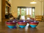 Breakfast bowls made by Kim Morgan