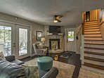 This vintage cottage has been updated to include modern amenities.