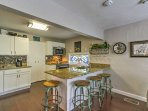 This home comes complete with a fully equipped kitchen.