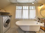 In-unit laundry machines are available!