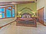 Upper Level Master Suite with King Bed, 32' HD Smart TV and Private Bath