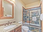 Main Floor Shared Full Bath with Jetted Tub and Shower