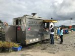 Our very own famousLes Routiers Fish & Chip Van