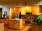 Upper level full kitchen (one of TWO full kitchens)