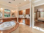 Master Bath Suite with Jetted Tub