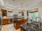 Kitchen with Jen-Air and Bosch Appliances