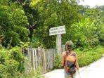 Our Ecological Farm entrance  Yoko'lka'= means Mundo Maya in our Mayan itza' language