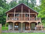For an unforgettable Kentucky getaway, book your next vacation at this beautiful cabin!