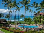 Stunning ocean views from your private lanai