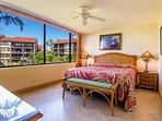 Master bedroom with ocean views!