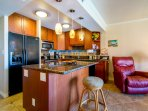 Newly remodeled kitchen with beautiful detail