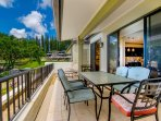 Ocean view dinners from your private lanai