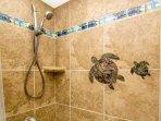 Custom shower tile work