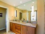 Fully renovated en-suite master bathroom
