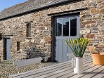 Stunning renovated sea front barn