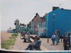 Popular seaside town of Aldeburgh, 20 minutes drive away