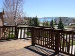 Deck with BBQ grill