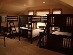 Upper Bunk Room/Game Room