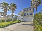 Located just steps away from the beach, this house  guarantees a good time for all!