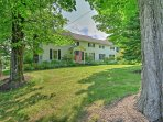Discover Upstate New York from this serene 3-bedroom, 2-bathroom vacation rental home in Saratoga Springs!