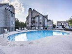You'll find another community pool here, perfect for cooling off during the warm Tennessee days.