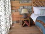 Cozy wood floor bedrooms