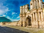 And just steps from your Artist Loft -  this! Agua Volcano & Antigua's beautiful and famous ruins!