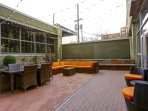 Stay Alfred Premier Lofts - Community Outdoor Patio