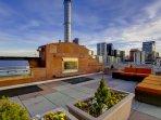 Stay Alfred Premier Lofts - Community Rooftop Deck w/Fireplace