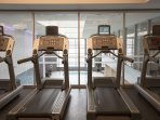 Stay Alfred Boston Vacation Rental Gym