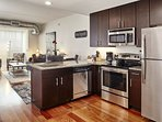 Stay Alfred Philadelphia  Vacation Rental Kitchen