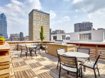 Stay Alfred Philadelphia Vacation Rental Rooftop Patio