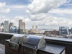 Stay Alfred Boston Vacation Rental Rooftop BBQ