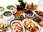 This is 'Issan food' my favorite thai restaurant . I will show you the best place at samui .