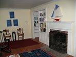 Living Room, gas fired insert