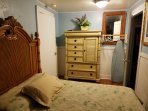 Guest bedroom has Tommy Bahama Brand furntire