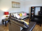 Lounge with views to front. SMART tv and dvd, high speed internet.