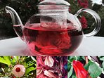 Herbal tea from Rosa de Jamaica