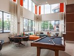 Stay Alfred on Ponce De Leon Avenue Community Lounge. Billiards anyone?