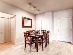 Stay Alfred Denver Vacation Rental Dining Room
