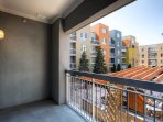 Stay Alfred Denver Vacation Rental Balcony