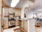 Stay Alfred Denver Vacation Rental Kitchen