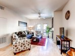 Stay Alfred Denver Vacation Rental Living Room