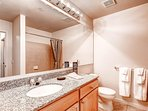 Stay Alfred Denver Vacation Rental Bathroom