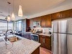 Stay Alfred Nashville Vacation Rental Kitchen
