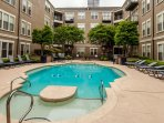 Stay Alfred Memphis Vacation Rental Pool (Seasonal; Memorial day thru labor day. Pool not heated)