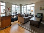 Asa Flats & Lofts by Stay Alfred Living Room
