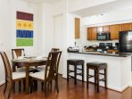 Stay Alfred Washington D.C. Vacation Rentals Dining Area & Kitchen