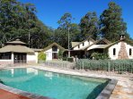 Secluded  and  stylish - set between the towns of Berry and Kangaroo Valley on 105 acres of bliss