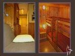 Couloir séjour / Chambre